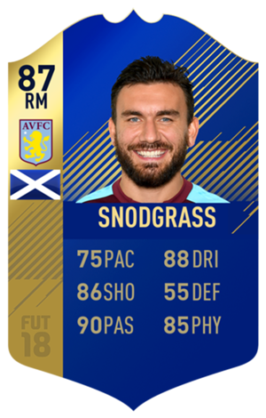 FIFA 18 EFL Team of the Season Snodgrass