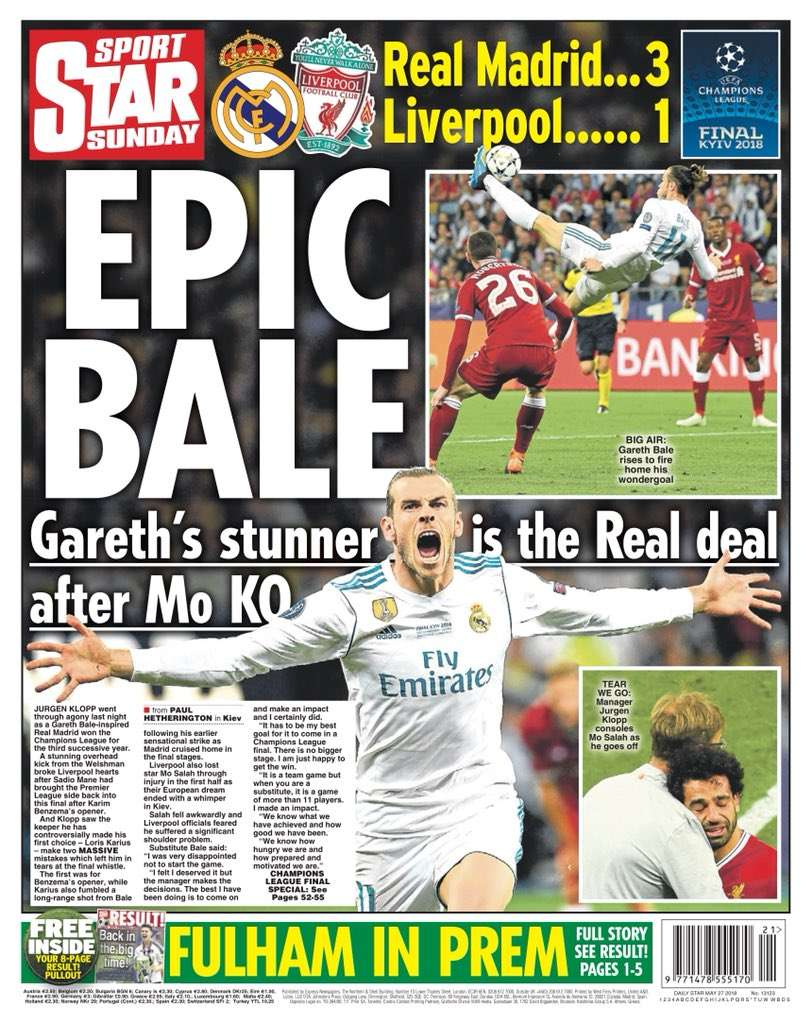 press about real madrid liverpool