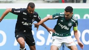 Bruno Henrique Jose Welison Palmeiras Atletico-MG Brasileirao Serie A 22072018