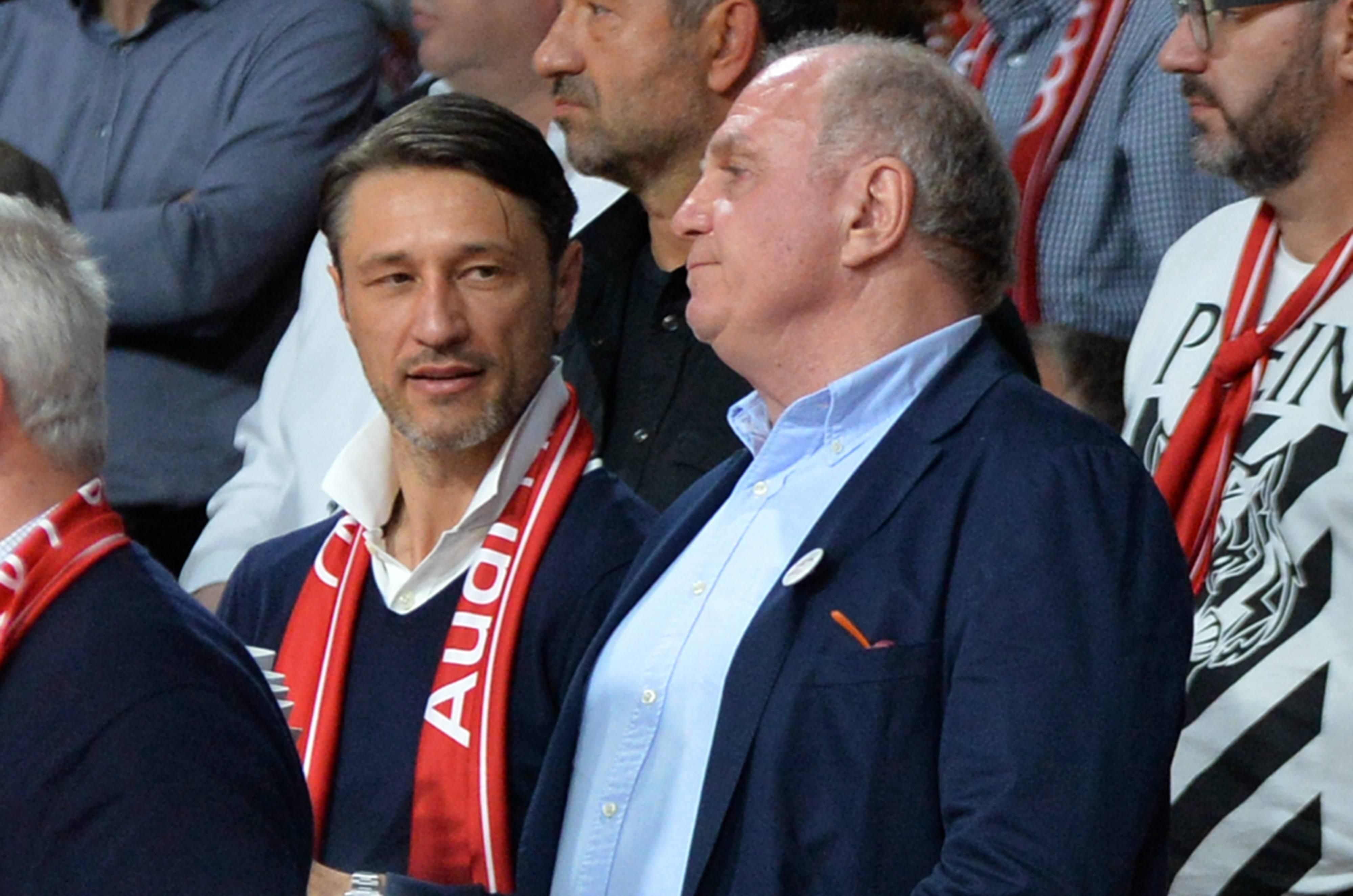 ONLY GERMANY Niko Kovac Uli Hoeness Bayern Munchen