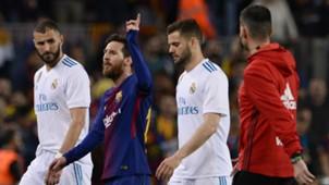 Benzema Messi Nacho Barcelona Real Madrid