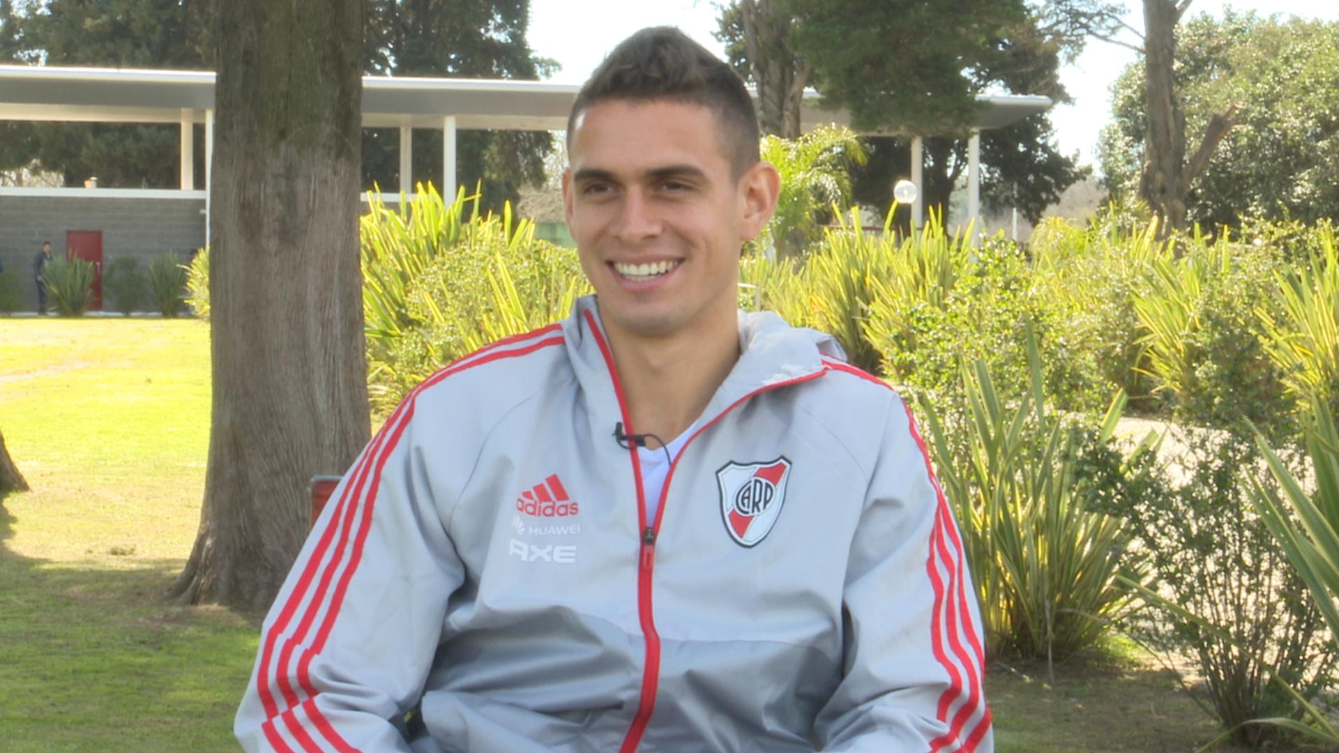Rafael Santos Borre River Entrevista Goal  2018
