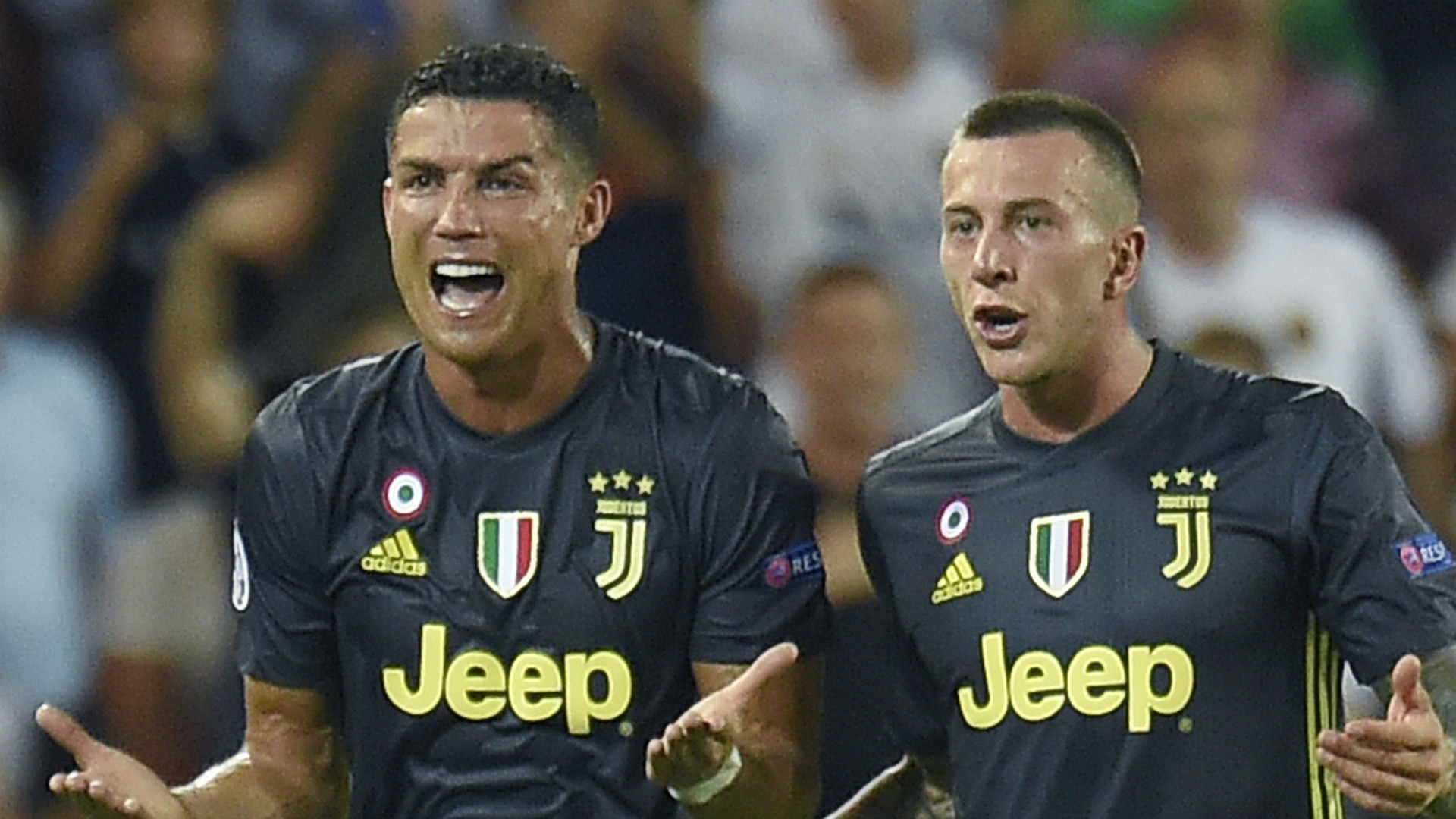 How Ronaldo Has Reacted To Being Sent Off In The Champions League