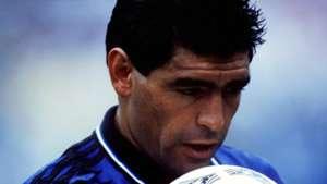 Diego Maradona Argentina Grecia Mundial 1994