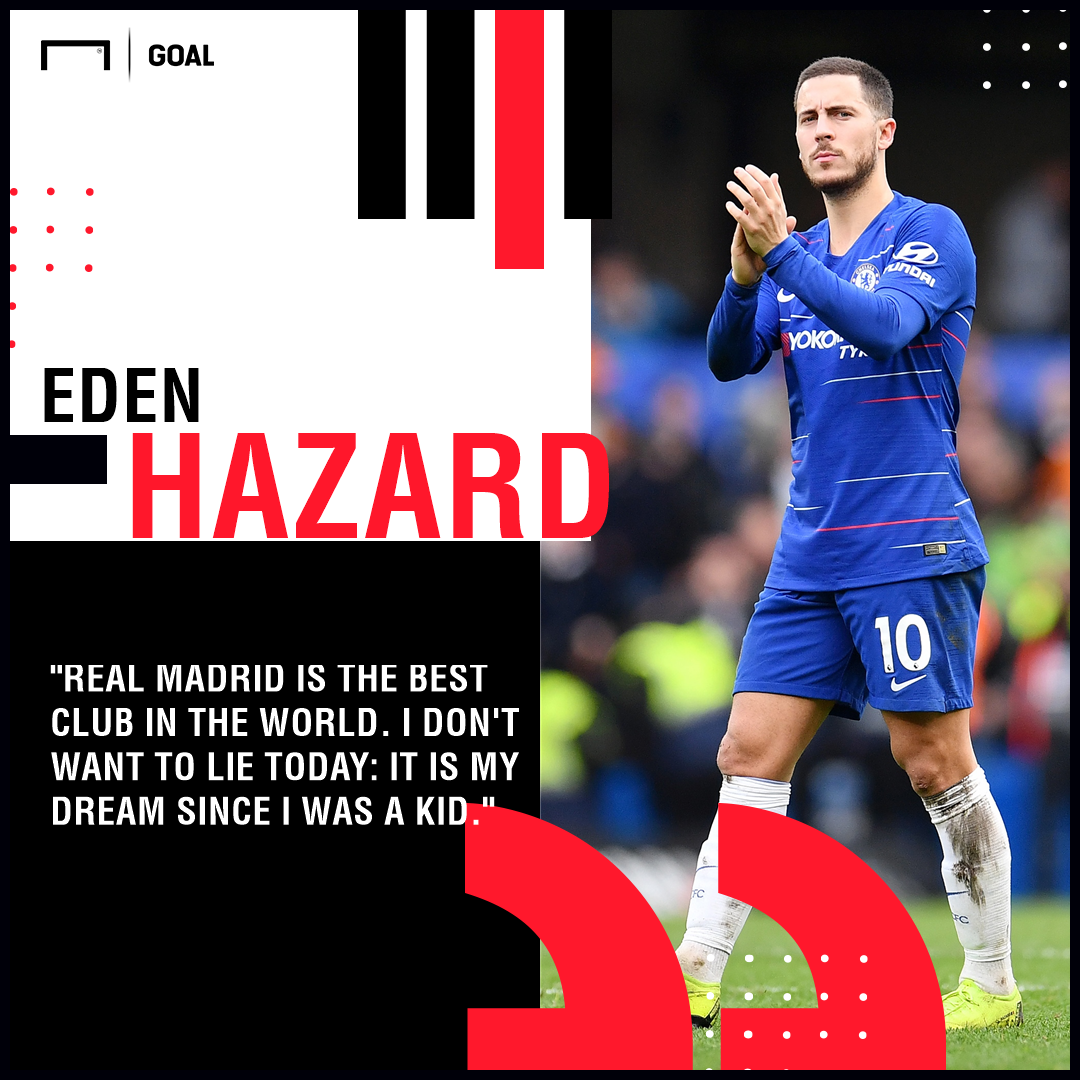 'Hazard must make up his own mind' - Chelsea boss