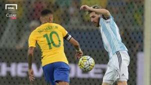 Neymar Brazil Lionel Messi Argentina