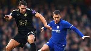 Eden Hazard Chelsea Leicester
