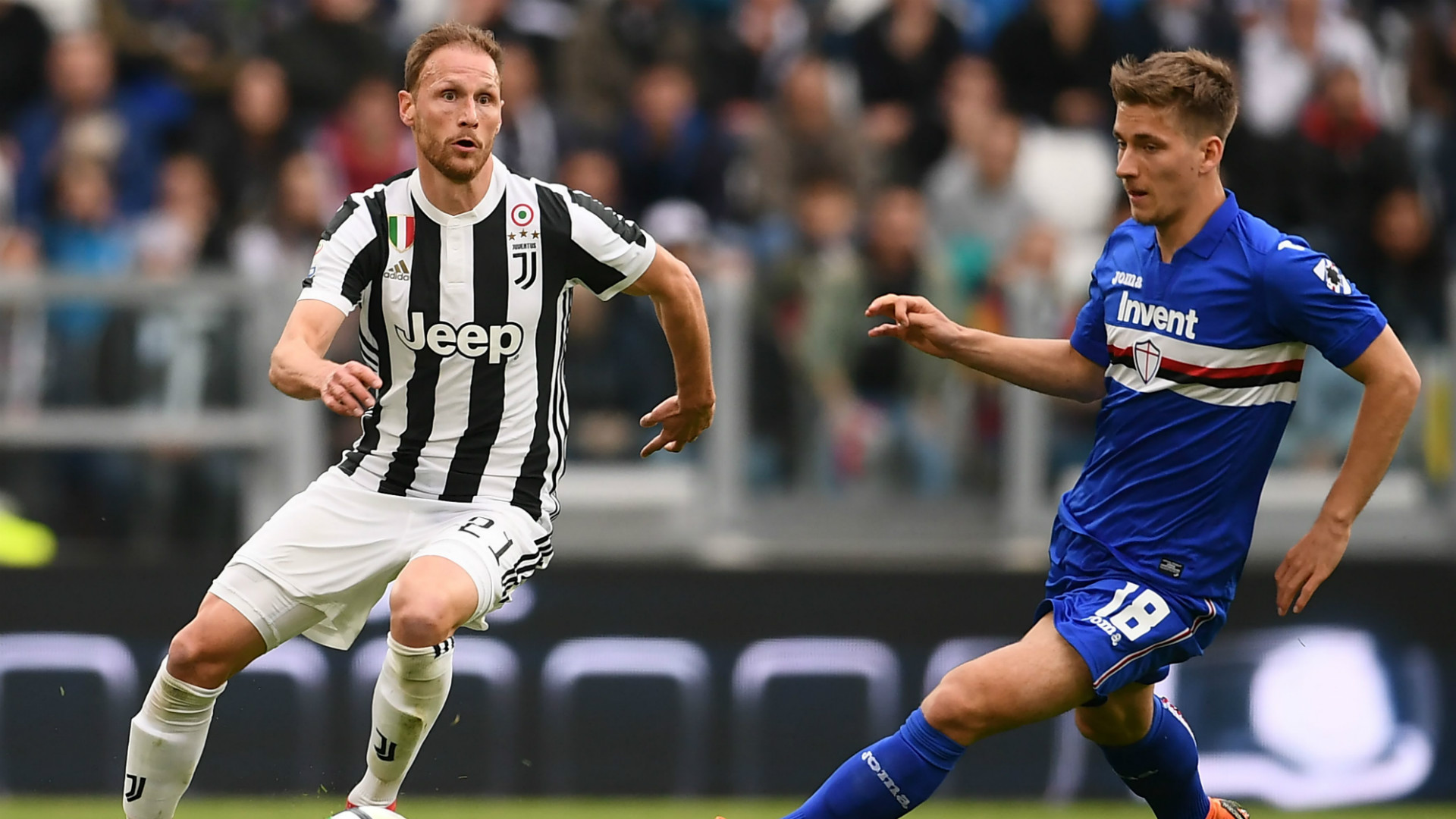 Benedikt Howedes Dennis Praet Juventus Sampdoria Serie A