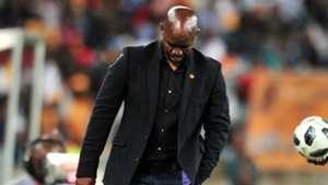 Steve Komphela, Kaizer Chiefs, April 2018
