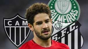 GFX Pato times Palmeiras Santos Atlético-MG
