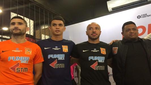 Borneo FC jersey