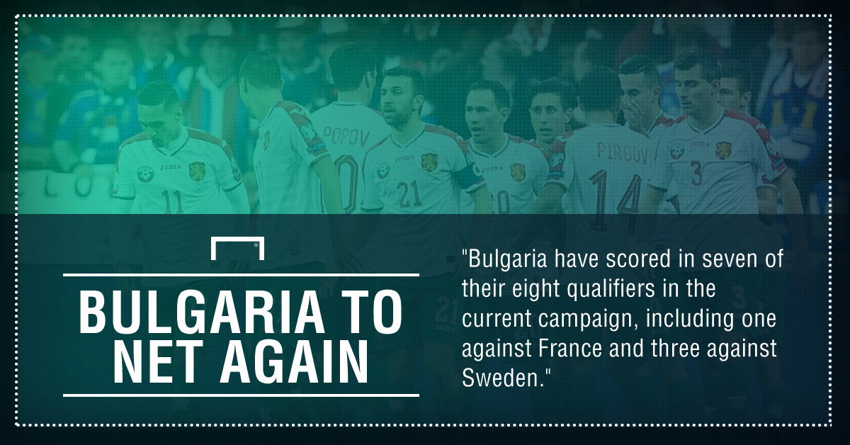 Home defeat eliminates Bulgaria from 2018 World Cup qualifying