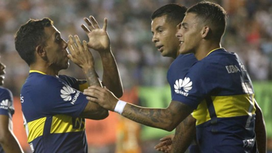 Banfield Boca Superliga Tevez Pavon 180218