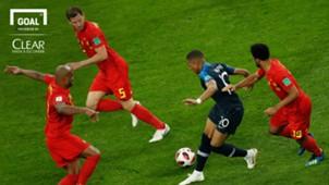 logo clear Mbappé | França | 2018