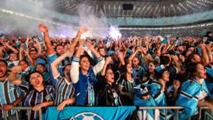 Gremio torcida Arena Porto Alegre Final Copa Libertadores 29112017