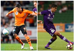 Dimitri Petratos Brisbane Roar FFA Cup Kosta Petratos Perth Glory A-League