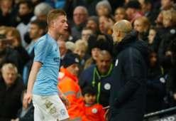 Guardiola De Bruyne Manchester City