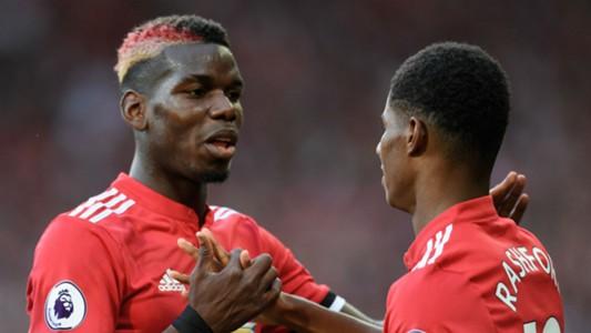Paul Pogba Marcus Rashford Manchester United