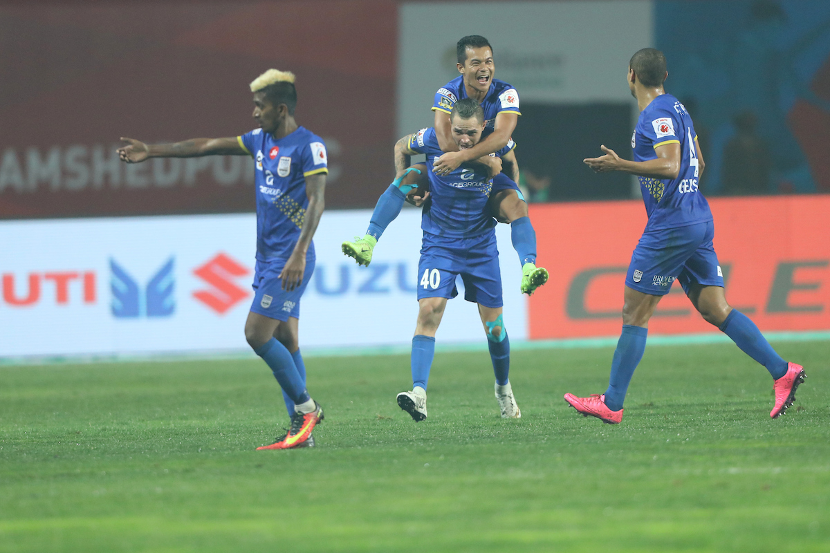 Jamshedpur FC Mumbai City