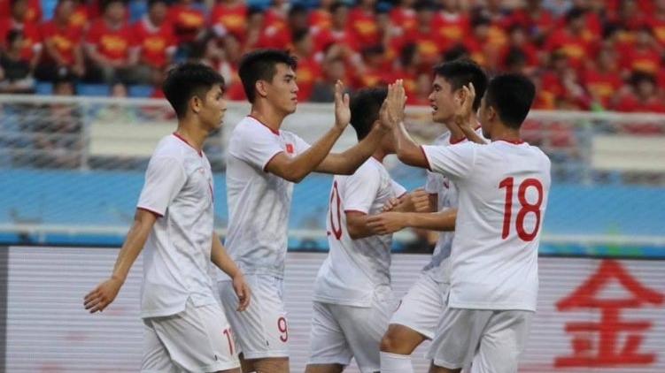 Nguyen Tien Linh U22 Vietnam vs U22 China Friendly Match