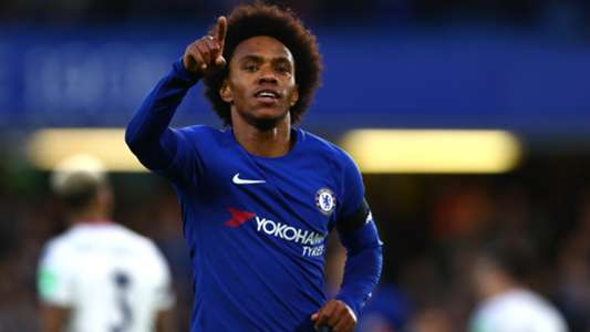 Willian Chelsea Crystal Palace