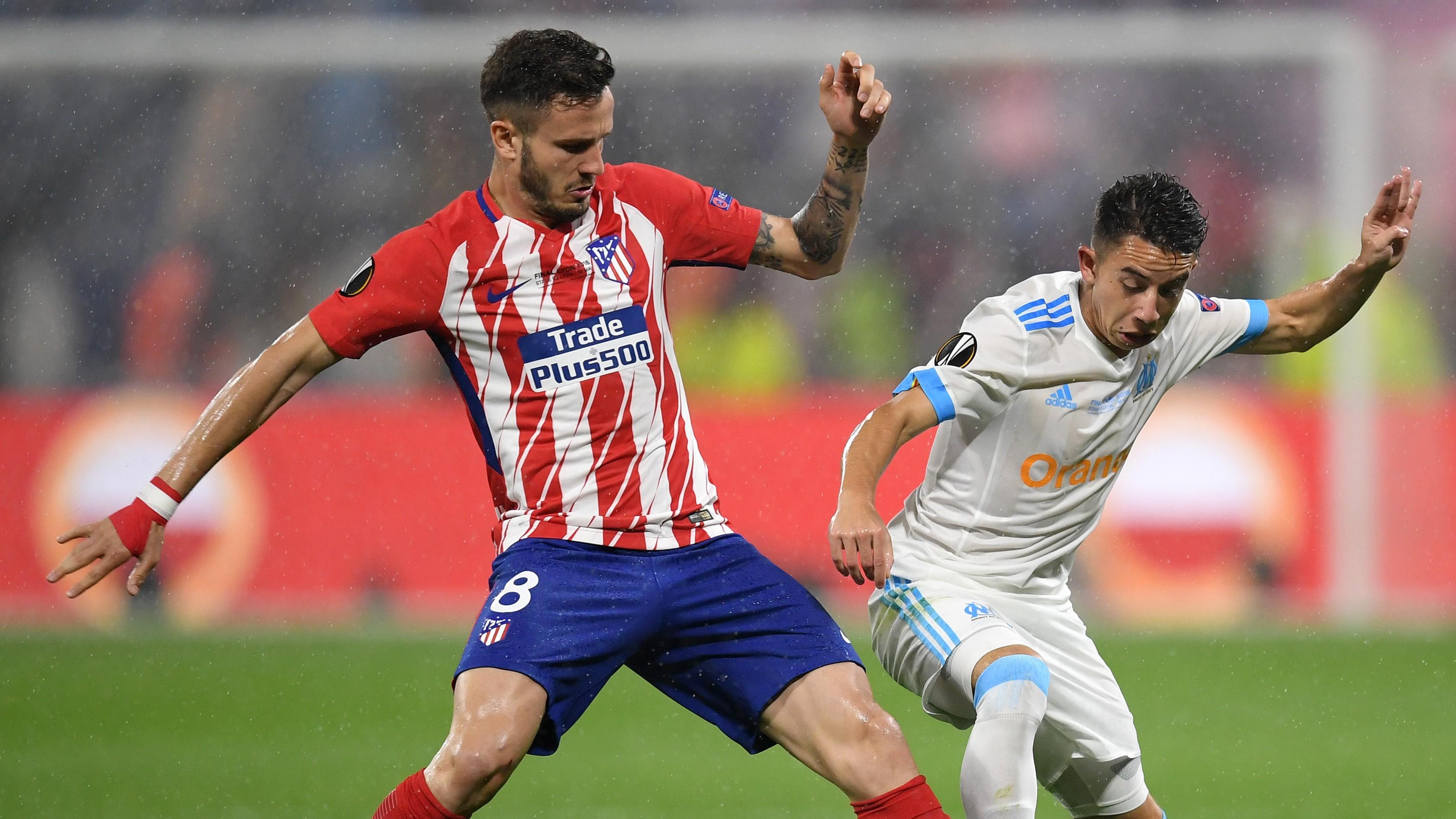 Saul Niguez Maxime Lopez Atletico de Madrid Olympique Marseille OM UEL 16052018