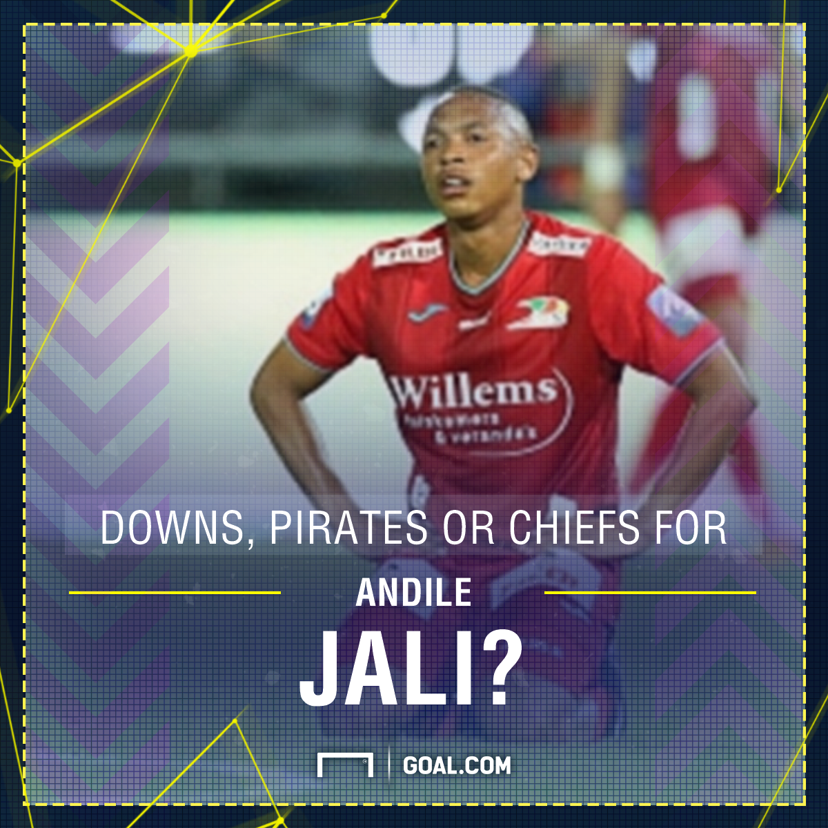 Sundowns, Pirates or Chiefs for Andile Jali? PS