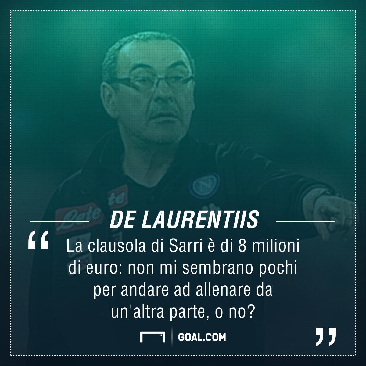 De Laurentiis Sarri PS