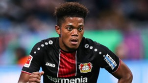 Leon Bailey Bayer Leverkusen 2018