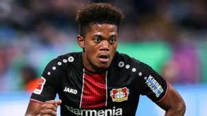Leon Bailey Bayer Leverkusen 2018