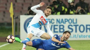 Dries Mertens Miralem Pjanic Napoli Juventus