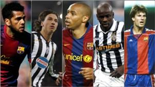 Ibrahimovic, Henry & Pemain Yang Pernah Membela Juventus Dan Barcelona