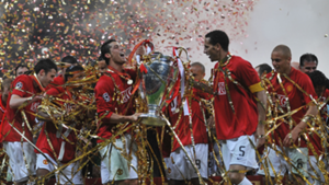 Man United 2008 Champions League winners