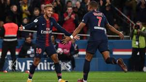 Neymar Mbappe Lyon PSG