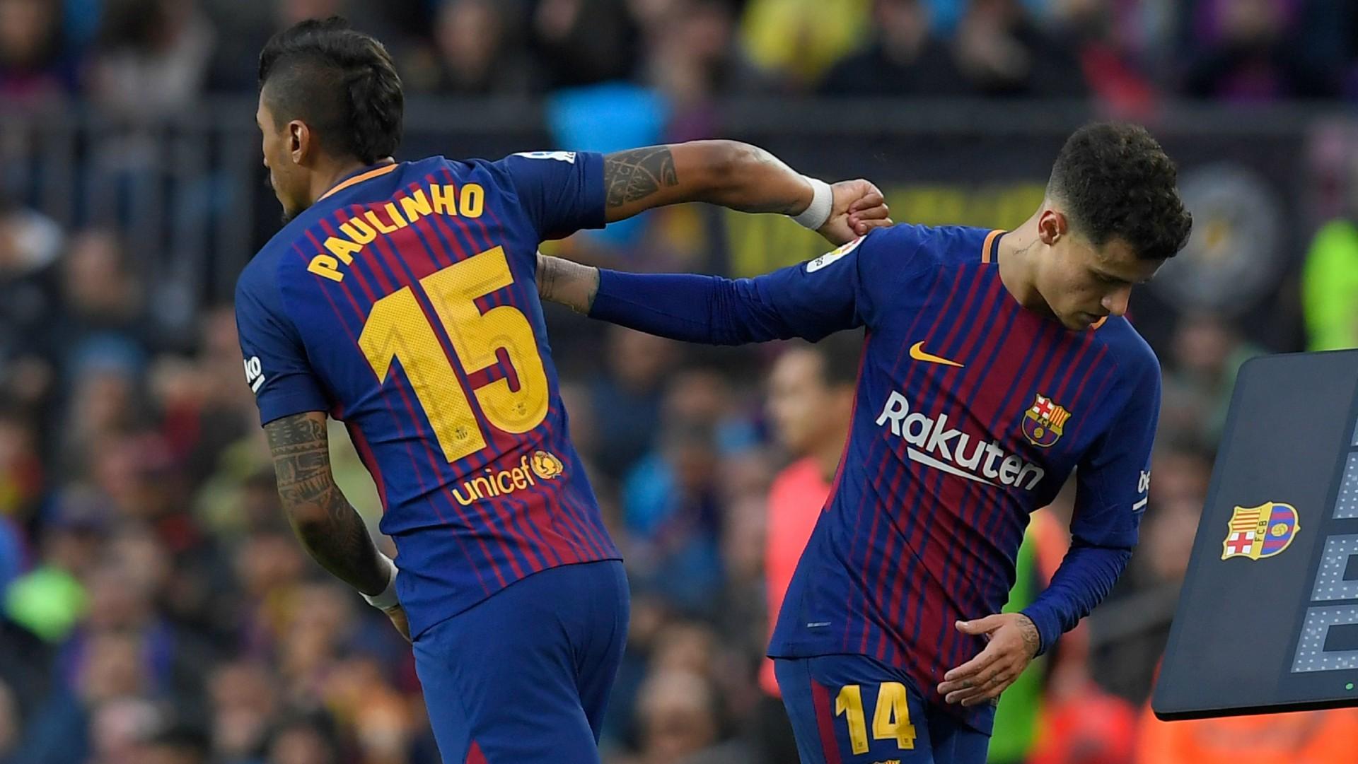 Paulinho Coutinho Barcelona 04032018