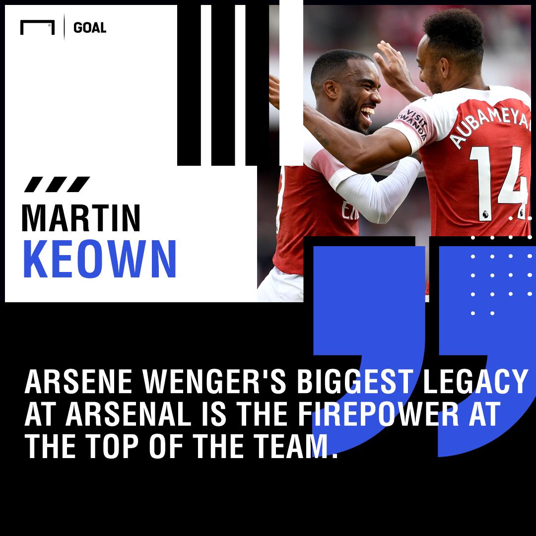 Alexandre Lacazette Pierre-Emerick Aubameyang Arsene Wenger's biggest legacy at Arsenal