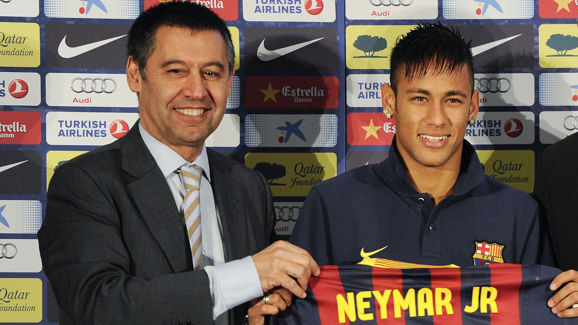 Josep Maria Bartomeu Neymar Barcelona