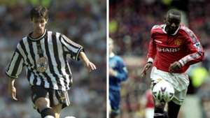 Keith Gillespie Andy Cole