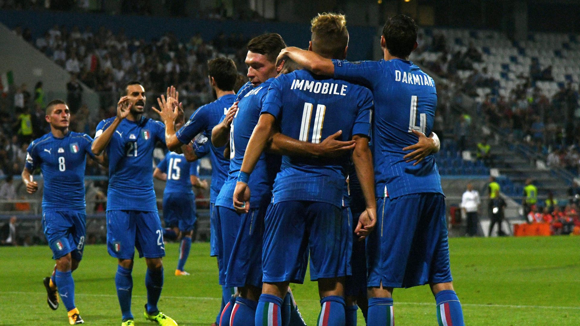 La nuova maglia dell'Italia per i Mondiali 2018