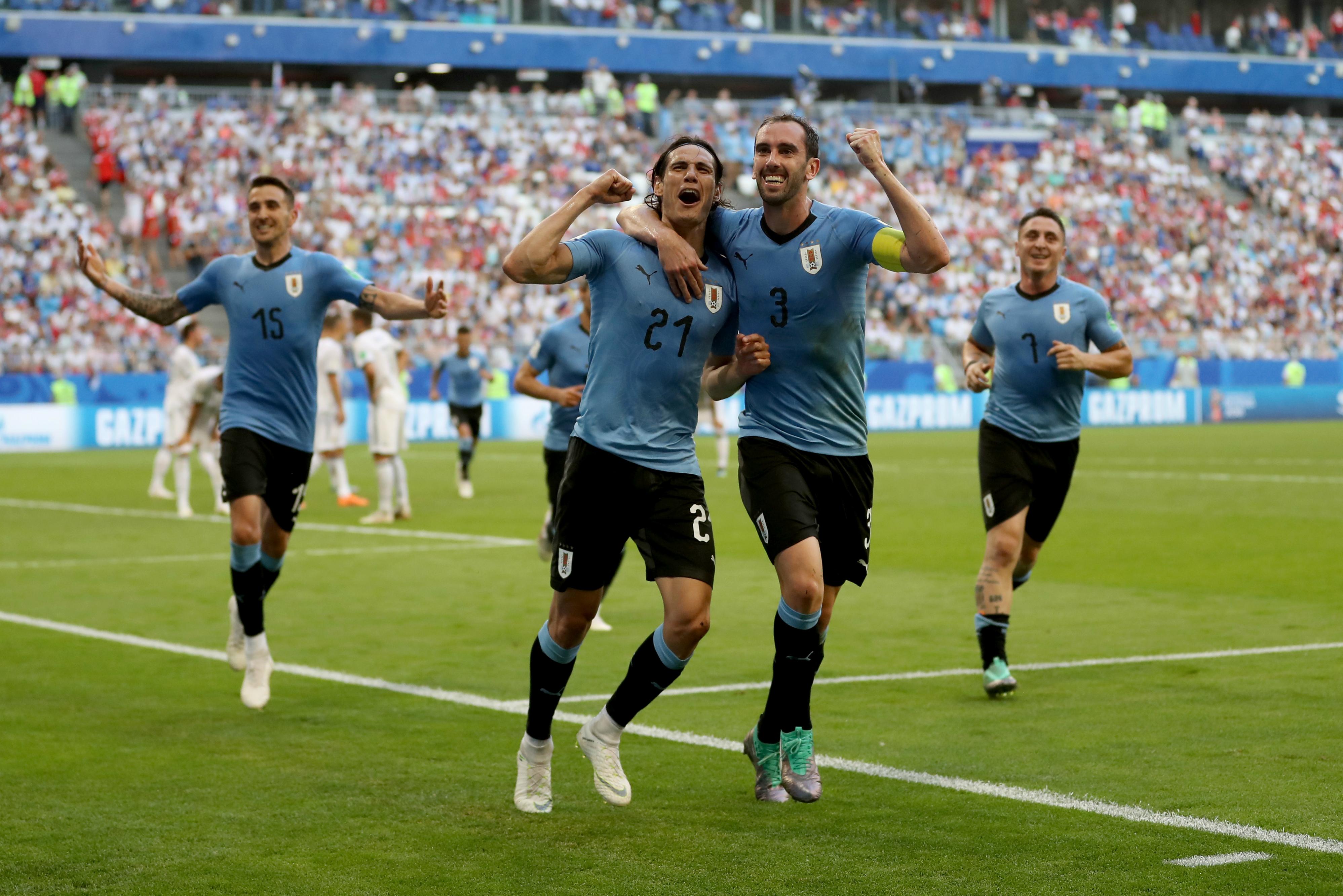 Cavani Uruguai|2018