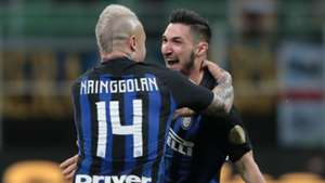 Politano Nainggolan Inter Chievo Serie A