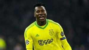André Onana, Ajax - Real Madrid, 02132019
