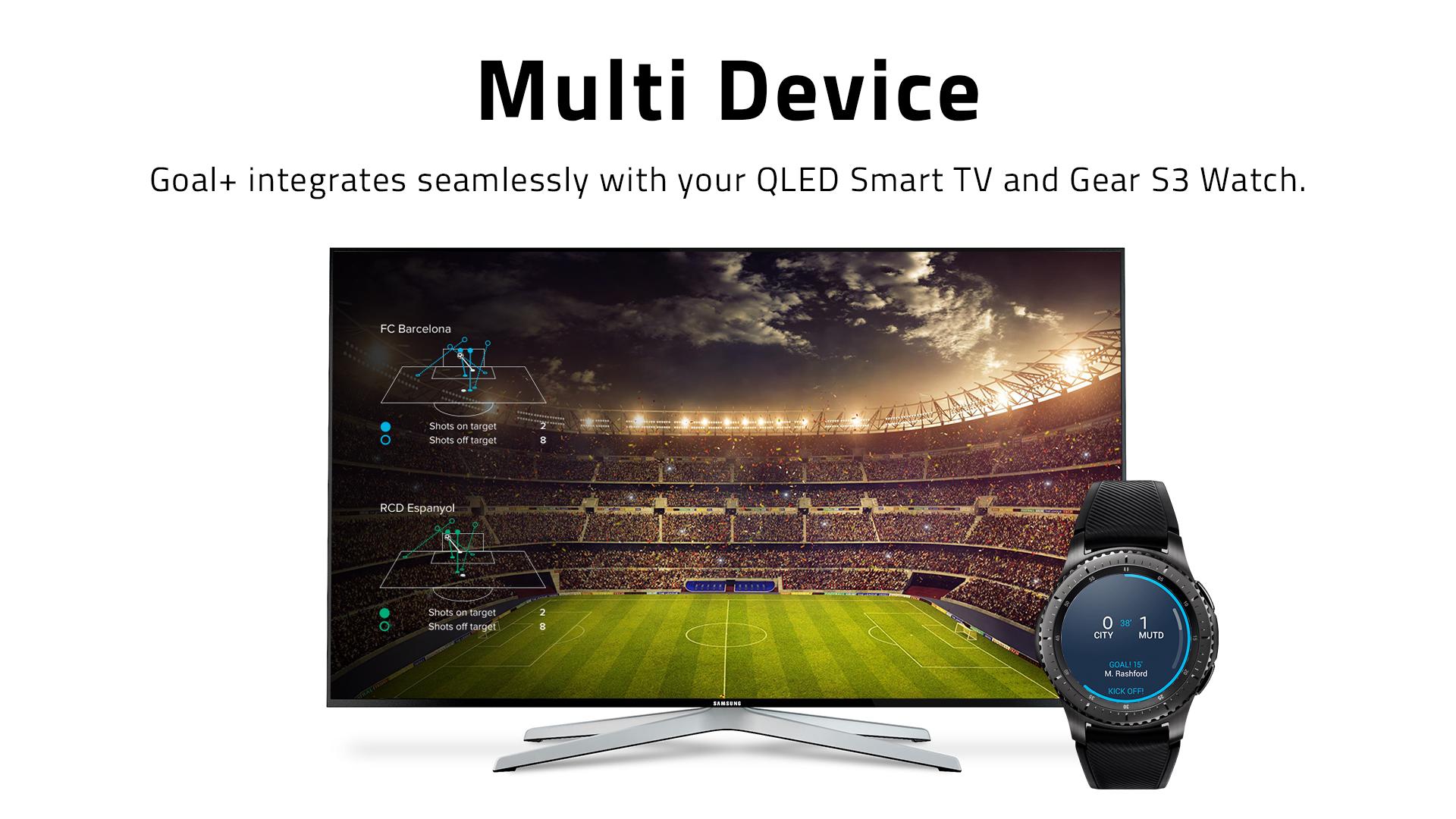 Samsung Goal+ S9 multi device