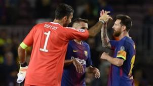 Gianluigi Buffon Lionel Messi