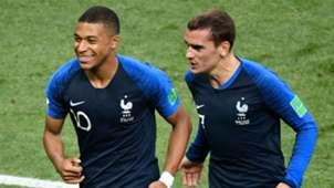 Mbappé Griezmann França Copa do Mundo 16 07 2018