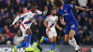 Wilfried Zaha, David Luiz - Chelsea vs. Crystal Palace
