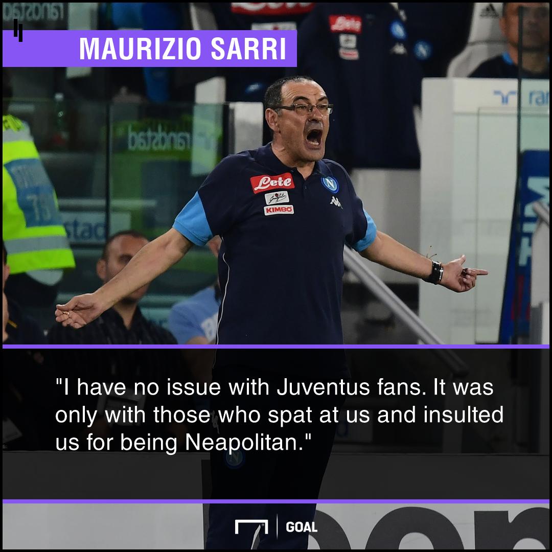 Maurizio Sarri Juventus fans PS