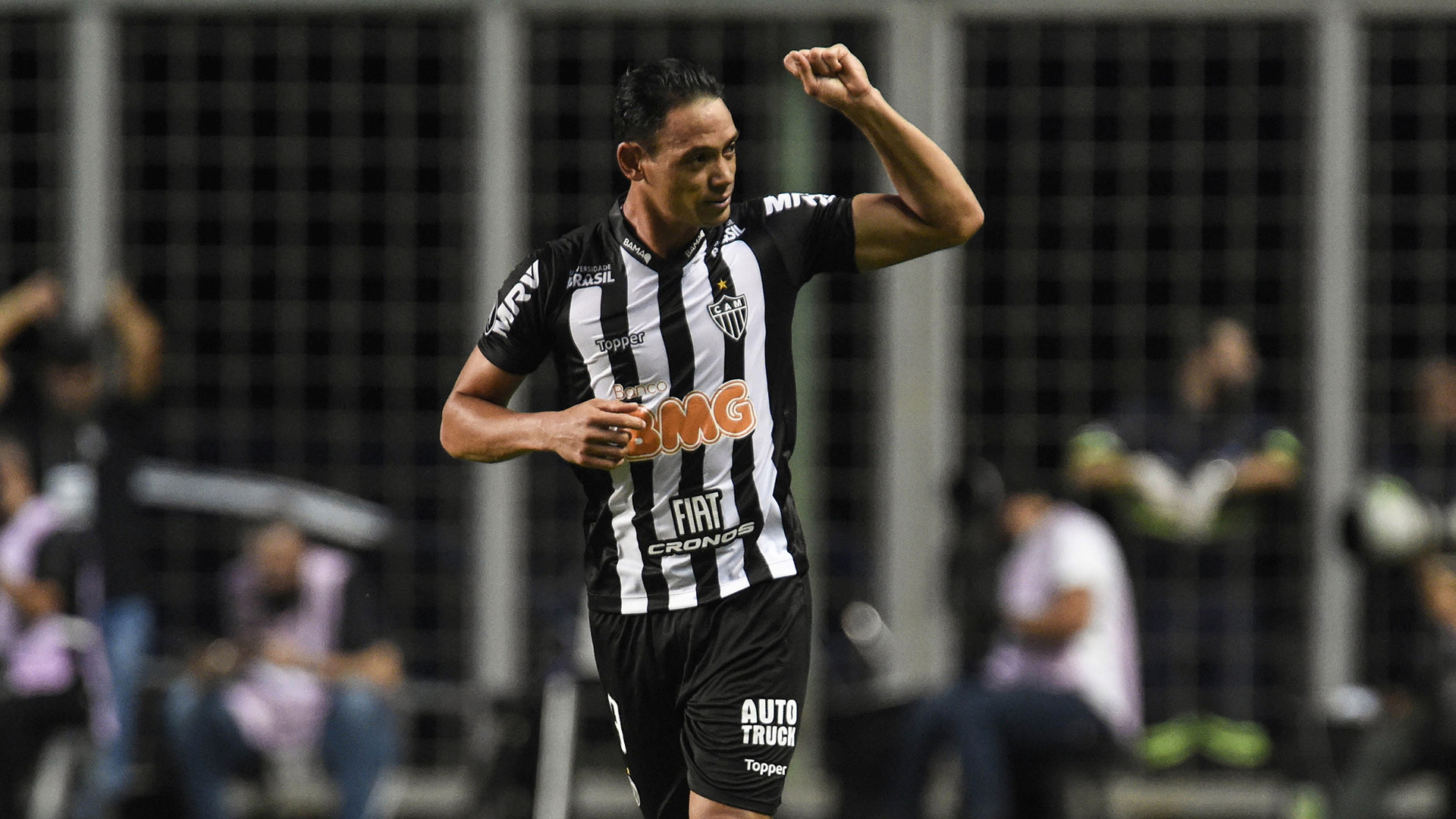 Ricardo Oliveira Atlético-MG Danubio Copa Libertadores 12022019