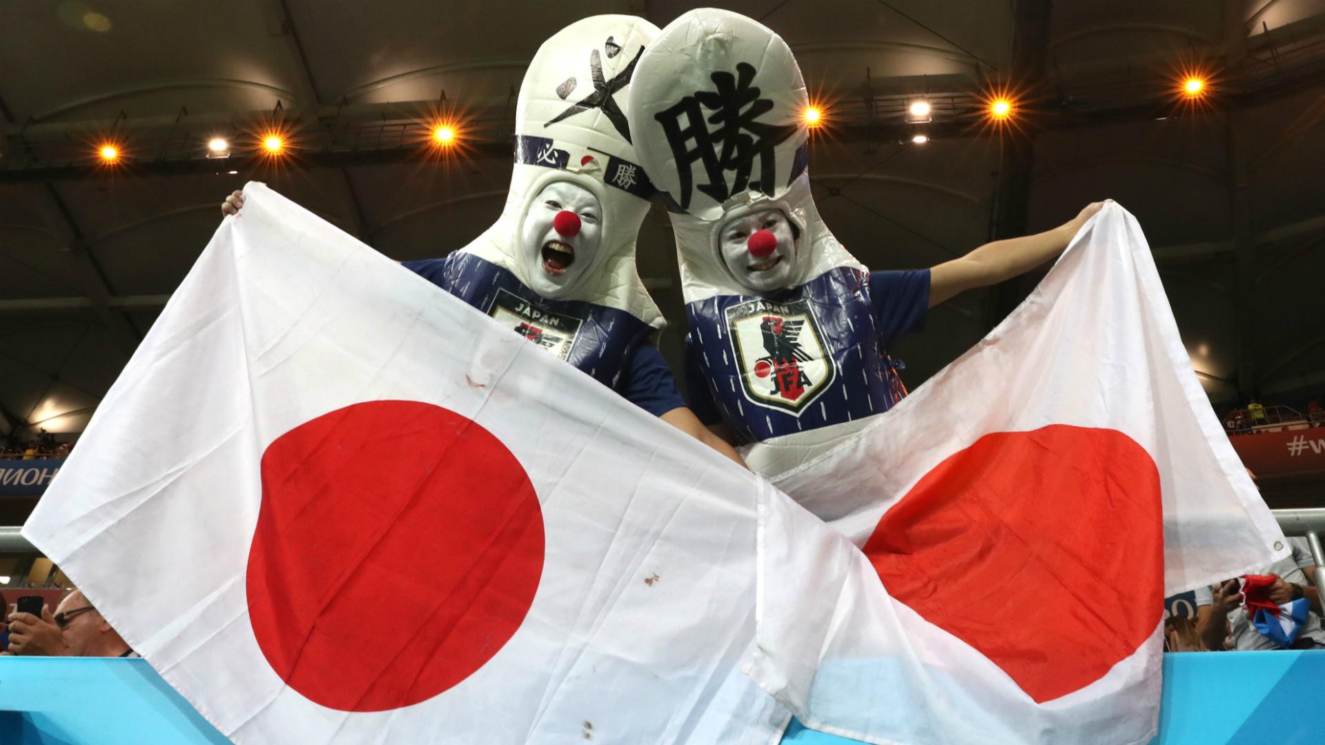 Japón fans