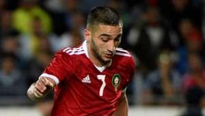Hakim Ziyech Morocco 2018